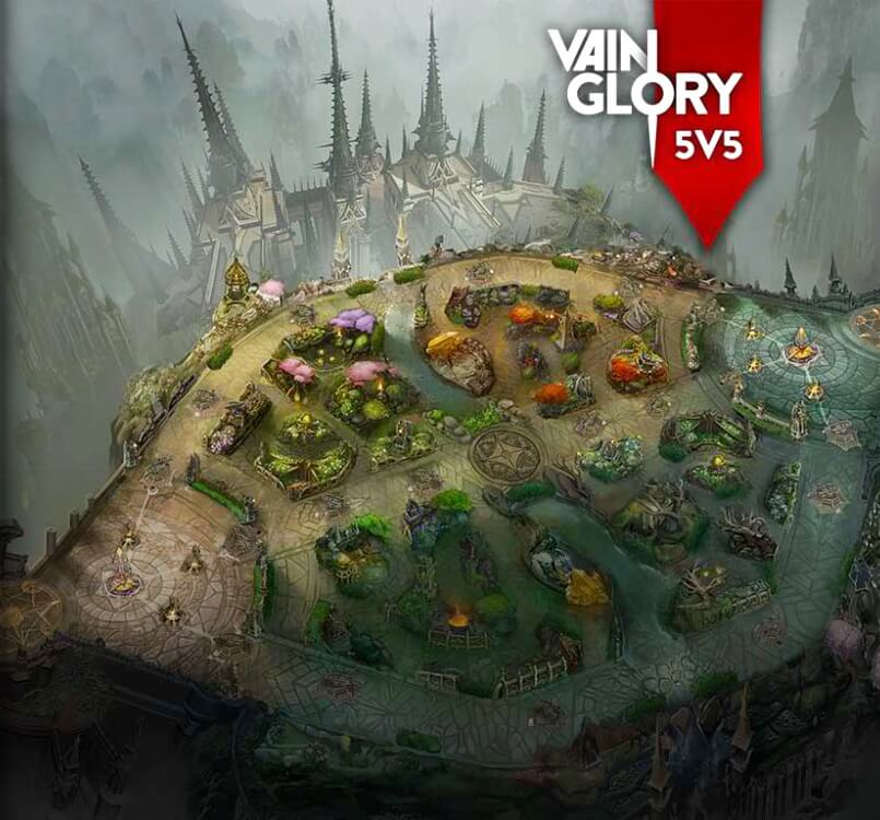 Where and How to Make Bets on Vainglory