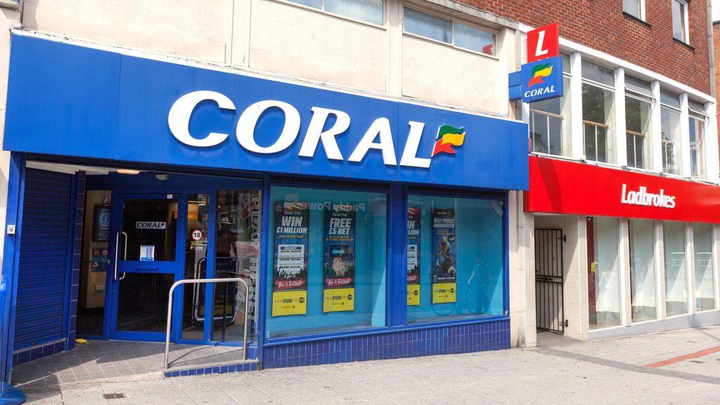 Coral Ladbrokes Shops FOBTs