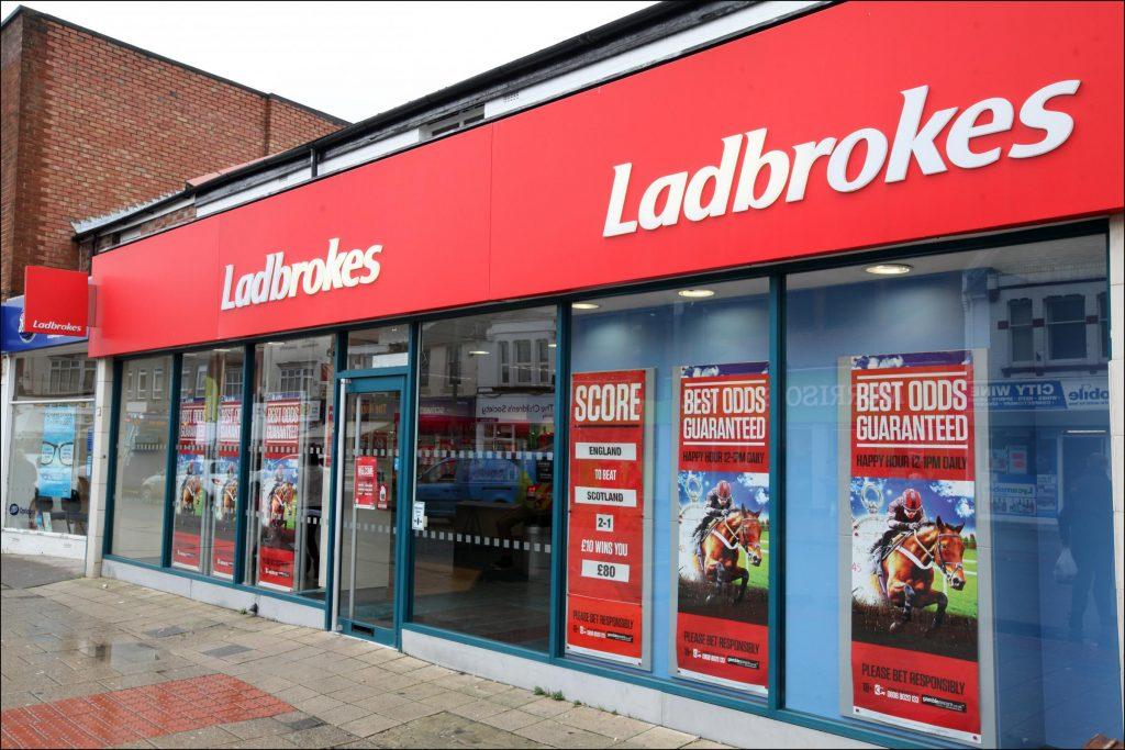 Ladbrokes FOBT Betting Shop