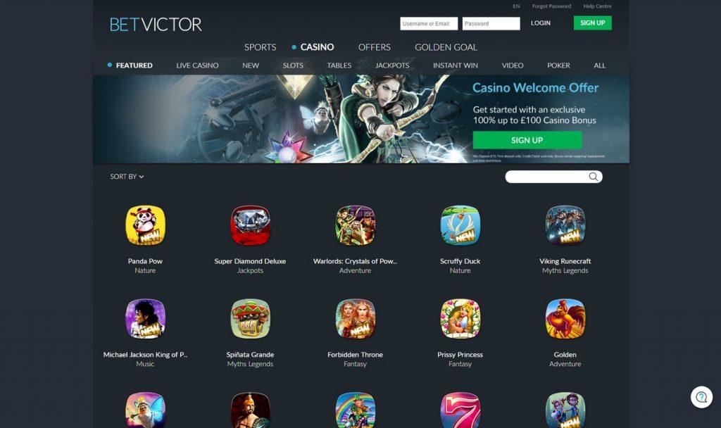Betvictor Online Casino