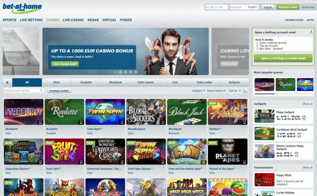 Bet-at-Home Online Casino
