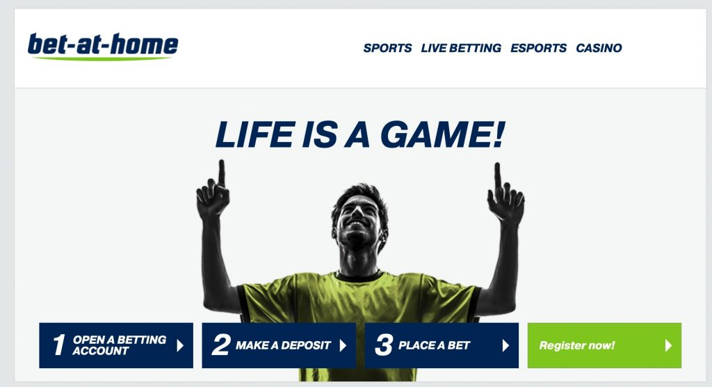 Bet-at-home website review