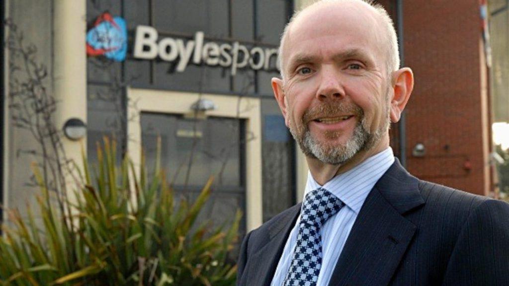 John Boyle of Boyle Sports