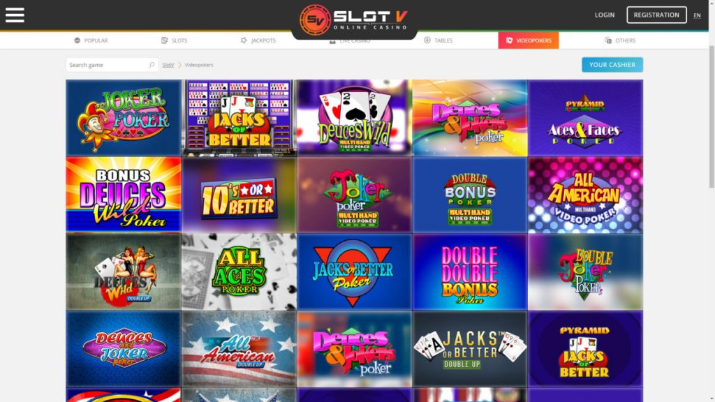 SlotV Bookmaker Review