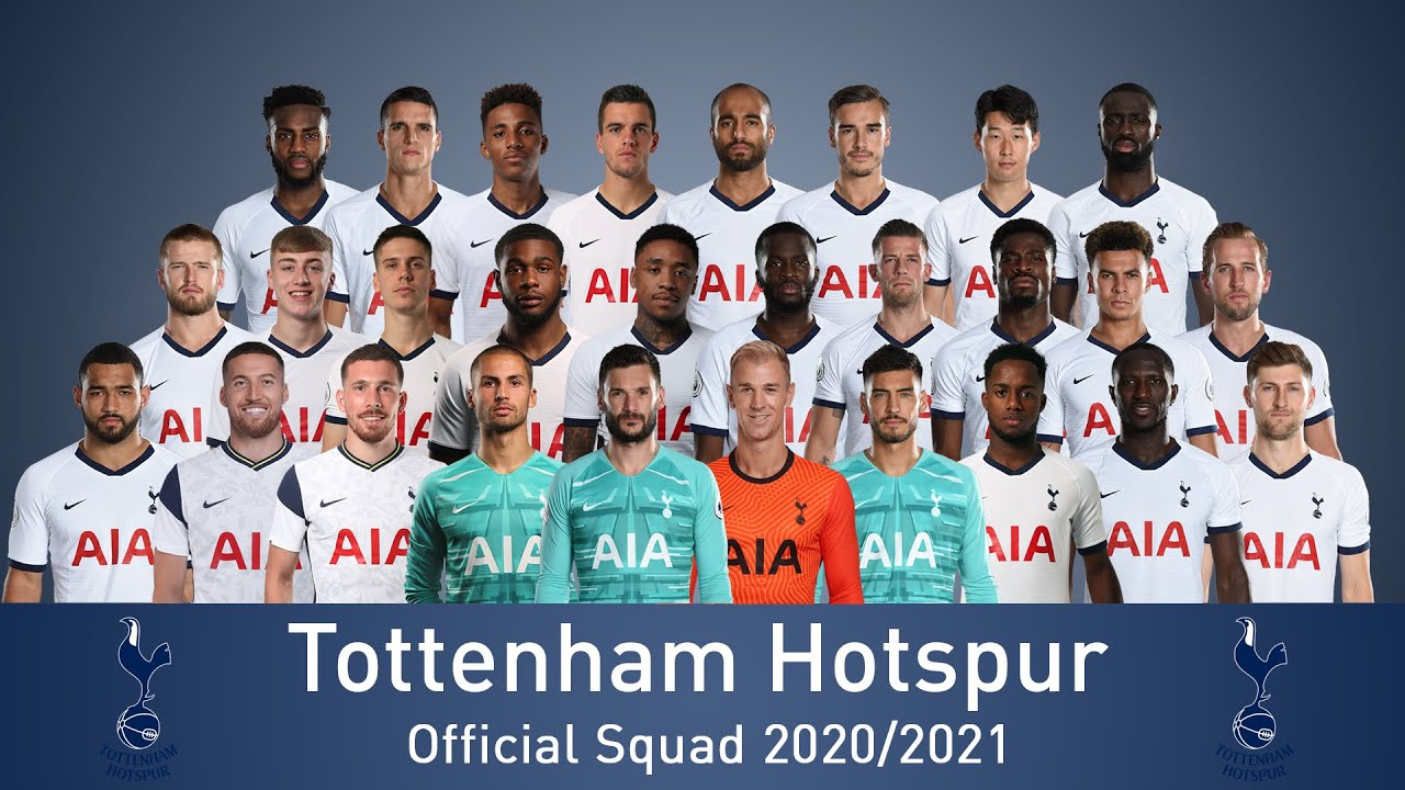 Tottenham Hotsput Team 2020-2021 Season