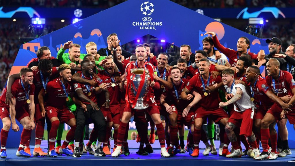 Liverpool F. C. Champions League HD Wallpaper Photo