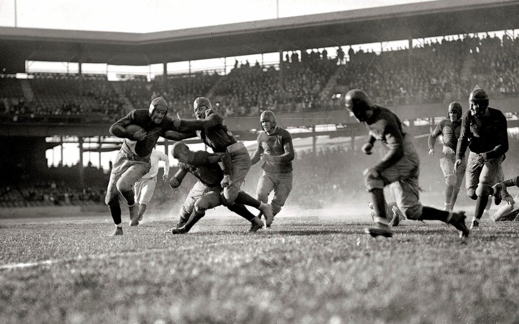 American Football Vintage Photo