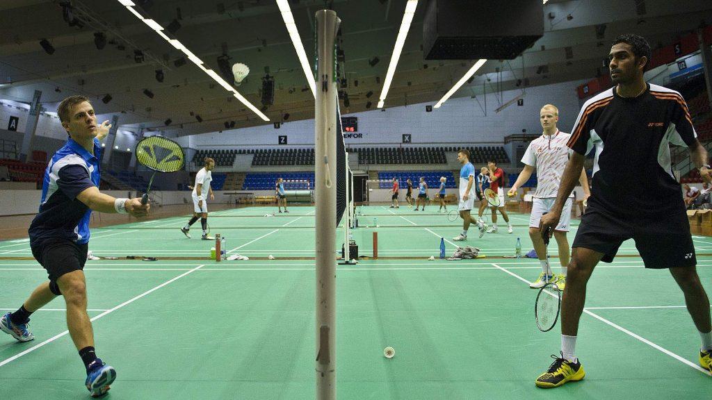 Male Badminton Players
