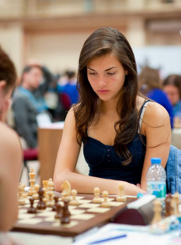 Female Chess Player