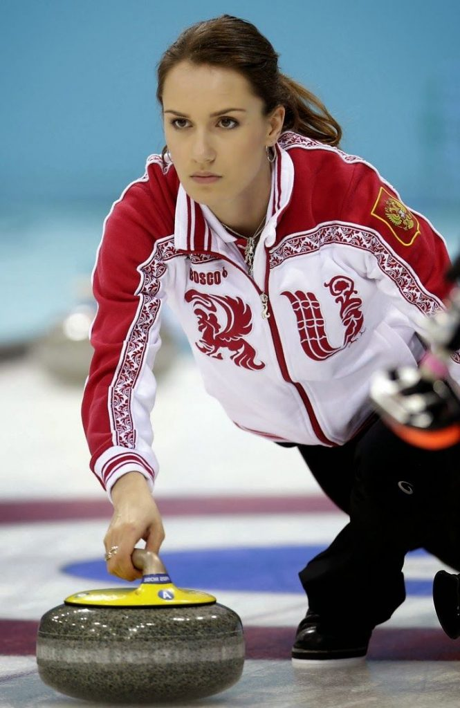 Russian Women Curling Team